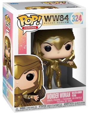 Funko POP! Wonder Woman 1984 volando con armadura