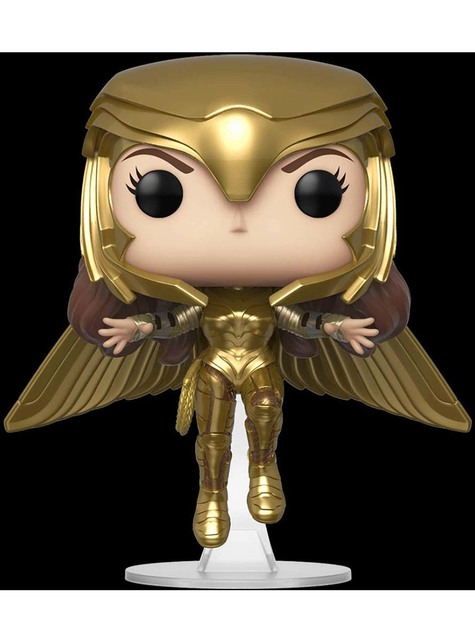 Funko POP! Wonder Woman 1984 volando con armadura