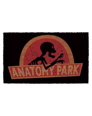 Χαλάκι Πόρτας Anatomy Park - Ρικ & Μόρτι