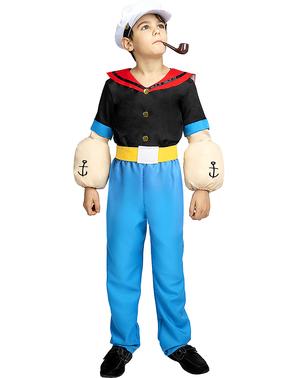 Skipper Skræk Kostume til Drenge