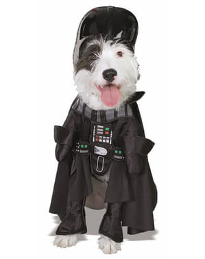 Costum Darth Vader pentru cățel