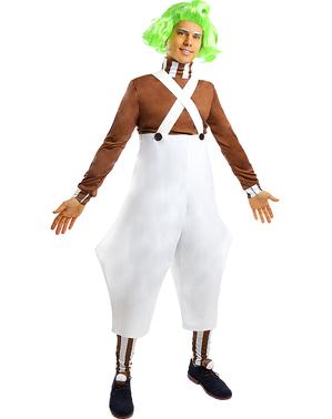Oompa Loompa kostuum - Sjakie en de Chocoladefabriek