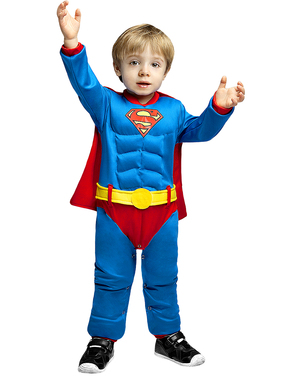 Costum Superman pentru bebeluși