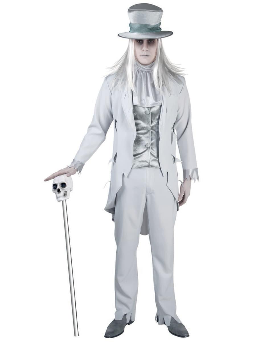 man 39 s sinister ghost costume. Black Bedroom Furniture Sets. Home Design Ideas