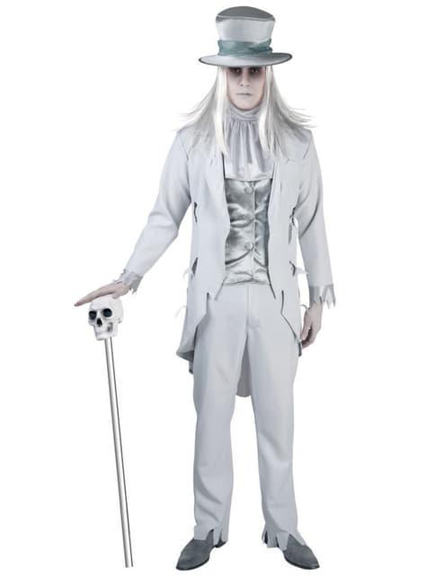 Disfraz de fantasma siniestro para hombre