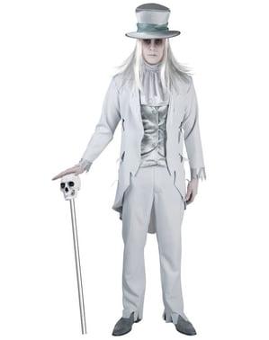 Costume da fantasma sinistro per uomo