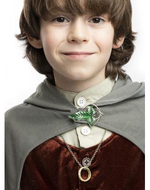 Elfská brošňa Pán prsteňov