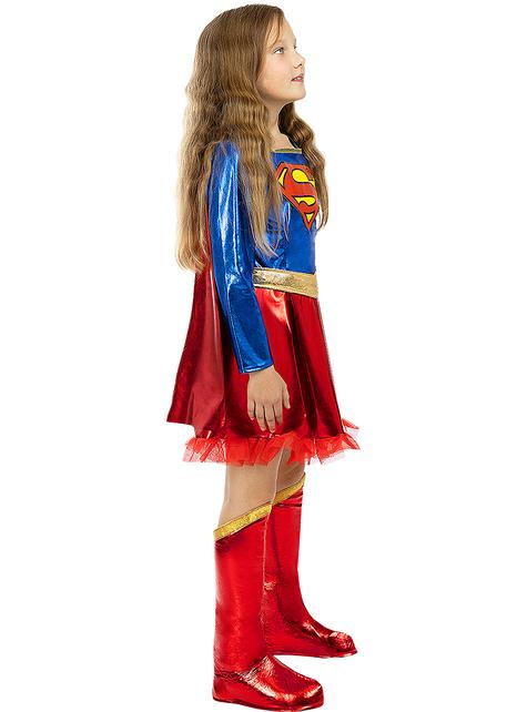 Strój Supergirl Deluxe dla dziewczynek