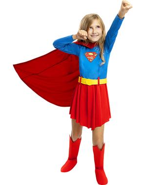 תחפושת סופרגירל לילדות
