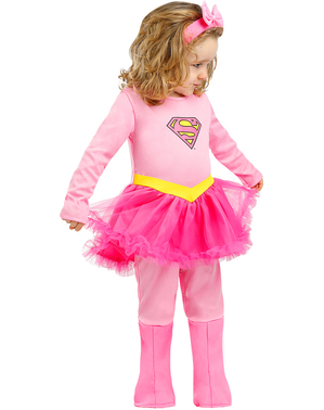 Бебешки костюм на Супергърл