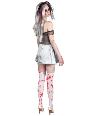 Bloody Dead Bride Costume for Women