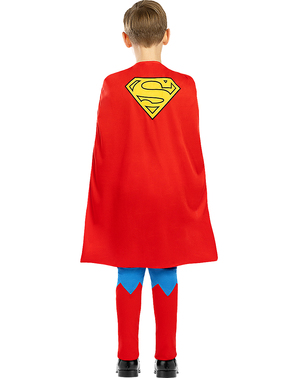 Klassisk Superman Maskeraddräkt för barn