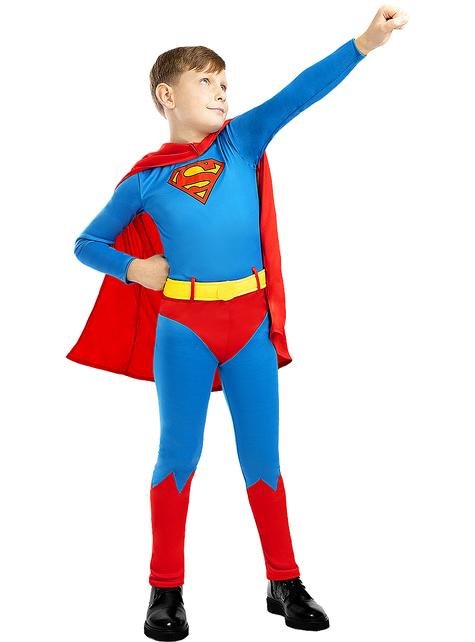 Fato de Super-Homem Classic para menino