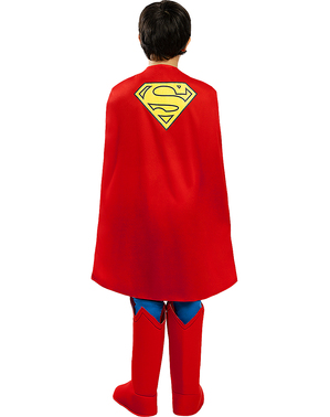 Deluxe Superman Maskeraddräkt för barn