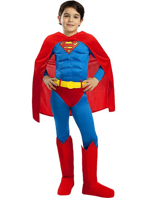 Disfraz de Superman deluxe para niño
