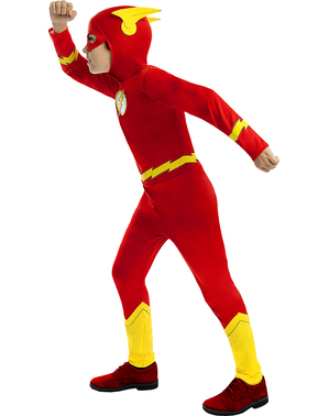 The Flash Maskeraddräkt för barn