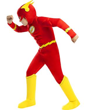 Flash Kostüm deluxe für Kinder