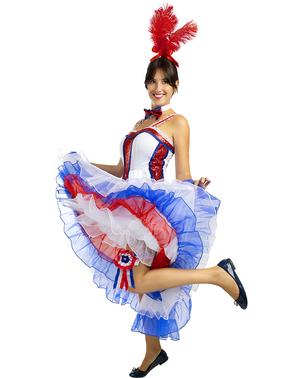 Strój Moulin Rouge dla kobiet