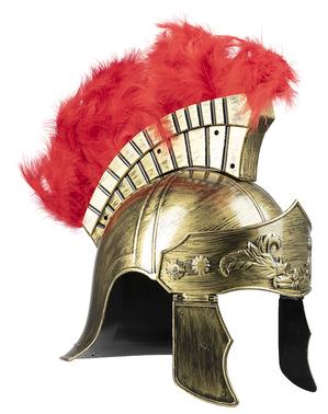 Capacete de centurião romano para adulto