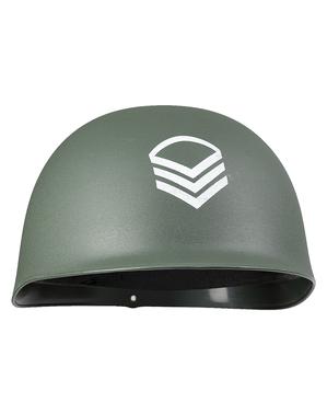 Vojenská helma pro dospělé