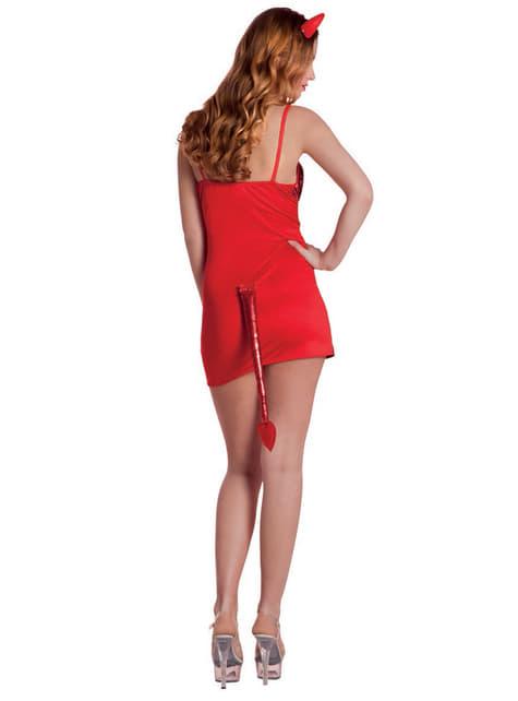 Disfraz de diablesa brillante para mujer - mujer