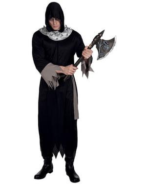 Disfraz de enterrador siniestro para hombre