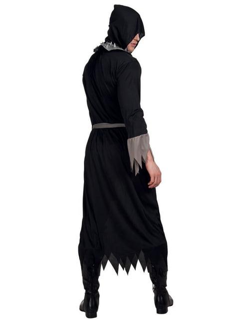 Man's Sinister Gravedigger Costume