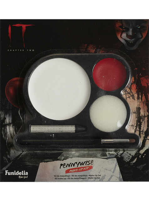 Maquillaje de Pennywise - IT: Capítulo Dos