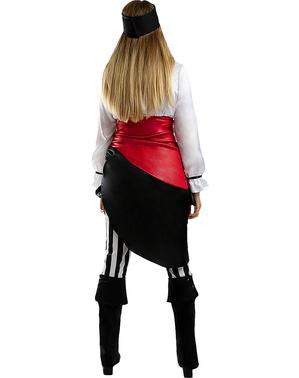Eventyrlysten Pirat Kostume til Kvinder - Plusstørrelse