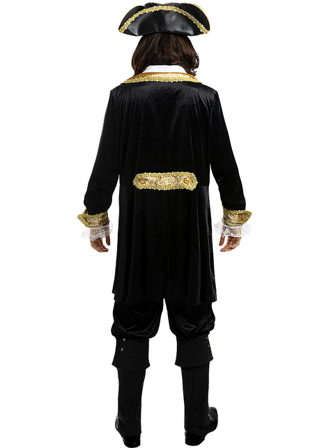 Deluxe Pirate Costume for Men - Colonial Collection