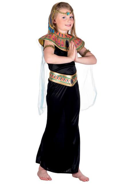 Fato de princesa egípcia para menina