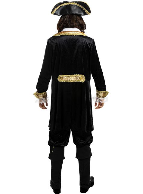 Disfraz de pirata deluxe para hombre talla grande - Colección colonial