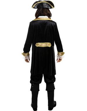 Deluxe Pirat Kostume til Mænd i Plusstørrelse - Koloni Samling