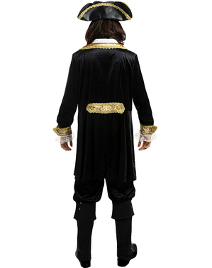 Макси луксозен мъжки пиратски костюм– Колониална колекция