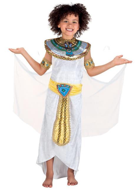 Kostium egipska Anuket dla dziewczynki