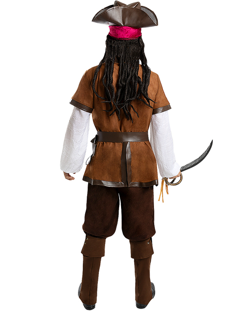 Disfraz de pirata para hombre talla grande - Colección Caribe