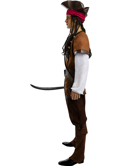 Pirate Costume for Men Plus Size - Caribbean Collection