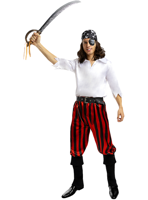 Pirate Costume for Men Plus Size - Buccaneer Collection