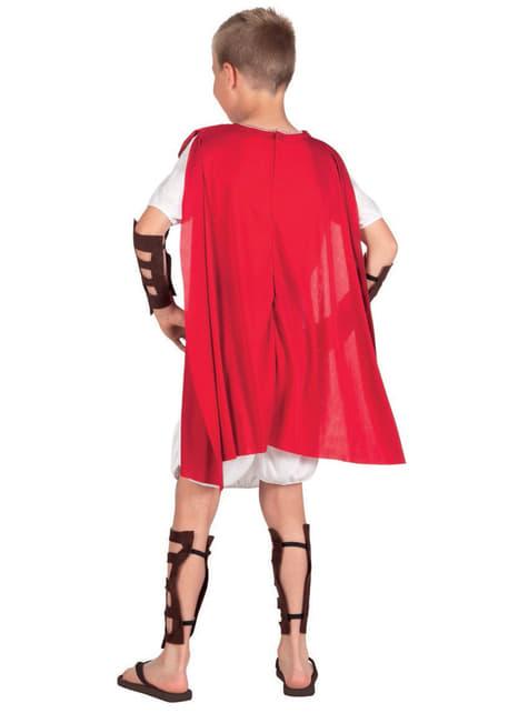 Fato de gladiador vencedor para menino