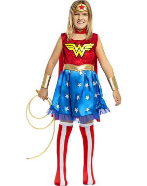 Disfraz de Wonder Woman para niña