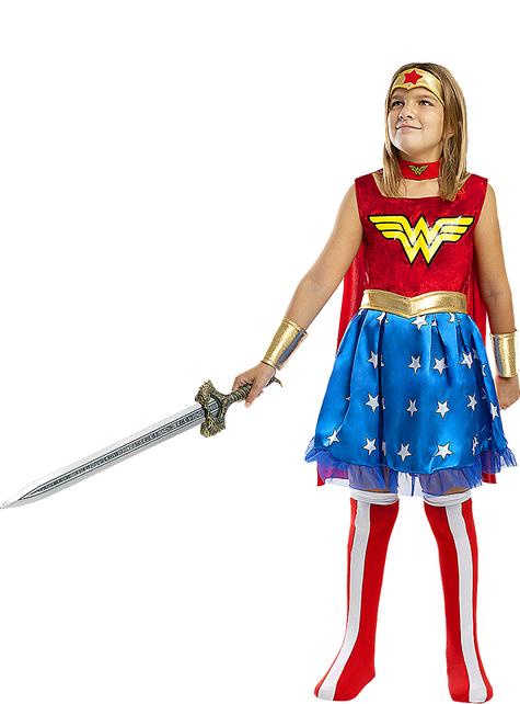 Strój Wonder Woman dla dziewczynek