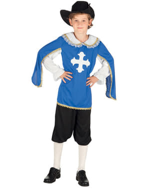 Costume da moschettiere reale per bambino