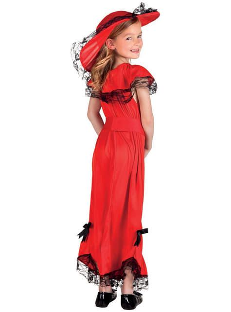 Disfraz de Scarlett para niña - niña