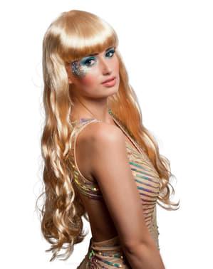 Perruque blonde sirène enchantée femme