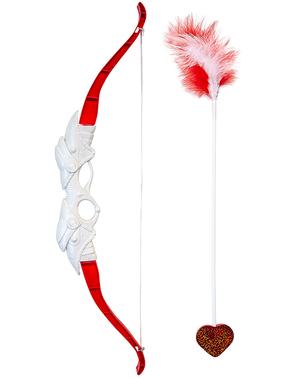 Cupido bow and arrow