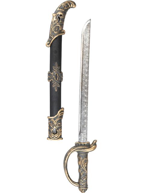 Espada pirata y vaina