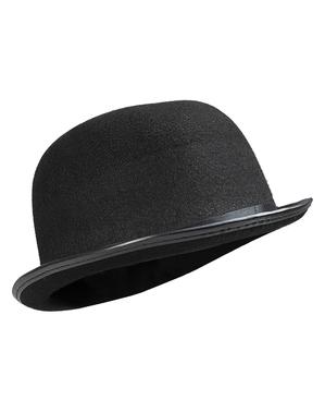 Cappello a bombetta nero