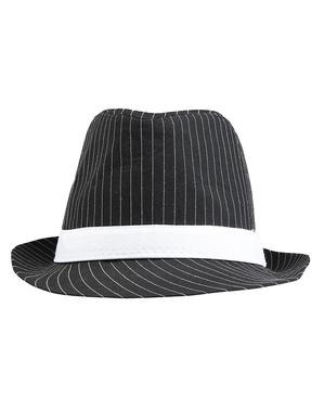 Pălărie de gangster deluxe