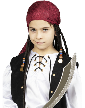 Bandana with Dreadlocks for Kids