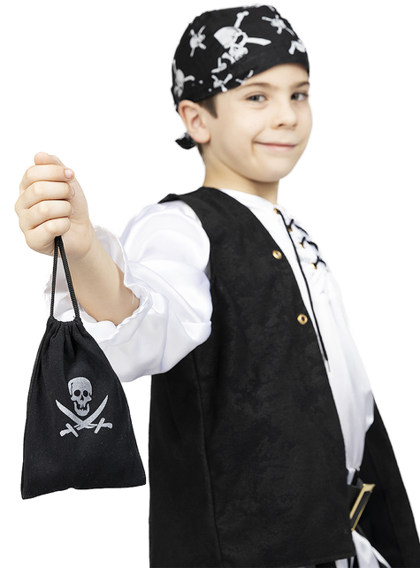 Pirate Bag with Coins